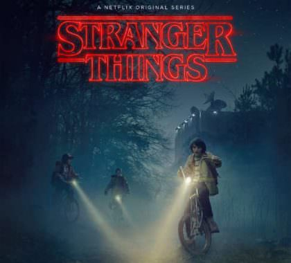 Stranger Things på Netflix