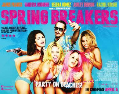 Spring Breakers på Netflix
