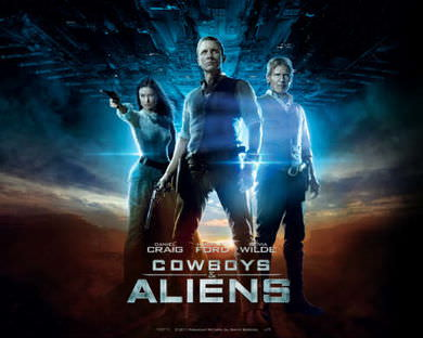 Cowboys and Aliens på Netflix