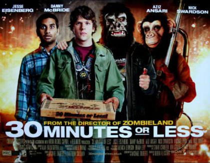 30 Minutes or Less på Netflix