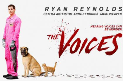 The Voices med Ryan Renolds på Netflix