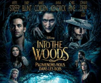 Disney's: Into the Woods på Netflix