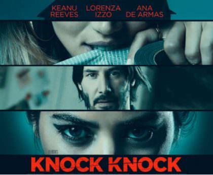 Knock Knock med Keanu Reeves på Netflix