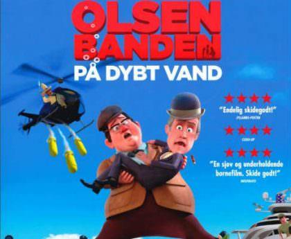Olsenbanden på Dybt Vand på Netflix