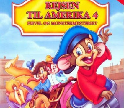 Rejsen til Amerika 4: Fievel og Monstermysteriet