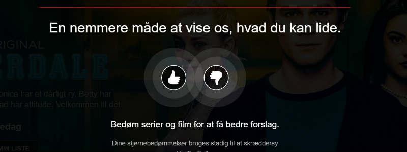Netflix bedømmelse