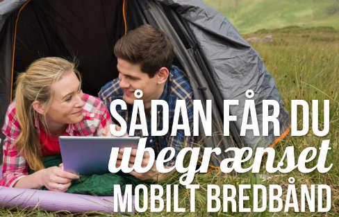 Ubegrænset mobilt bredbånd