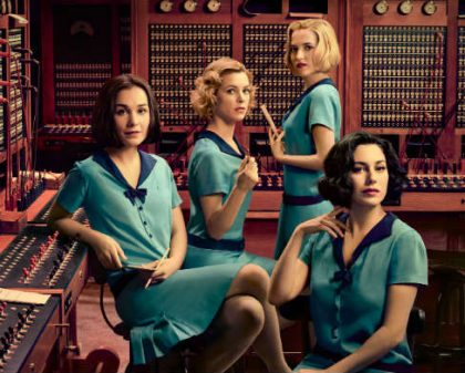 Omstillingsdamerne (The Cable Girls) på Netflix