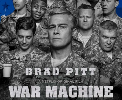 War Machine med Brad Pitt på Netflix